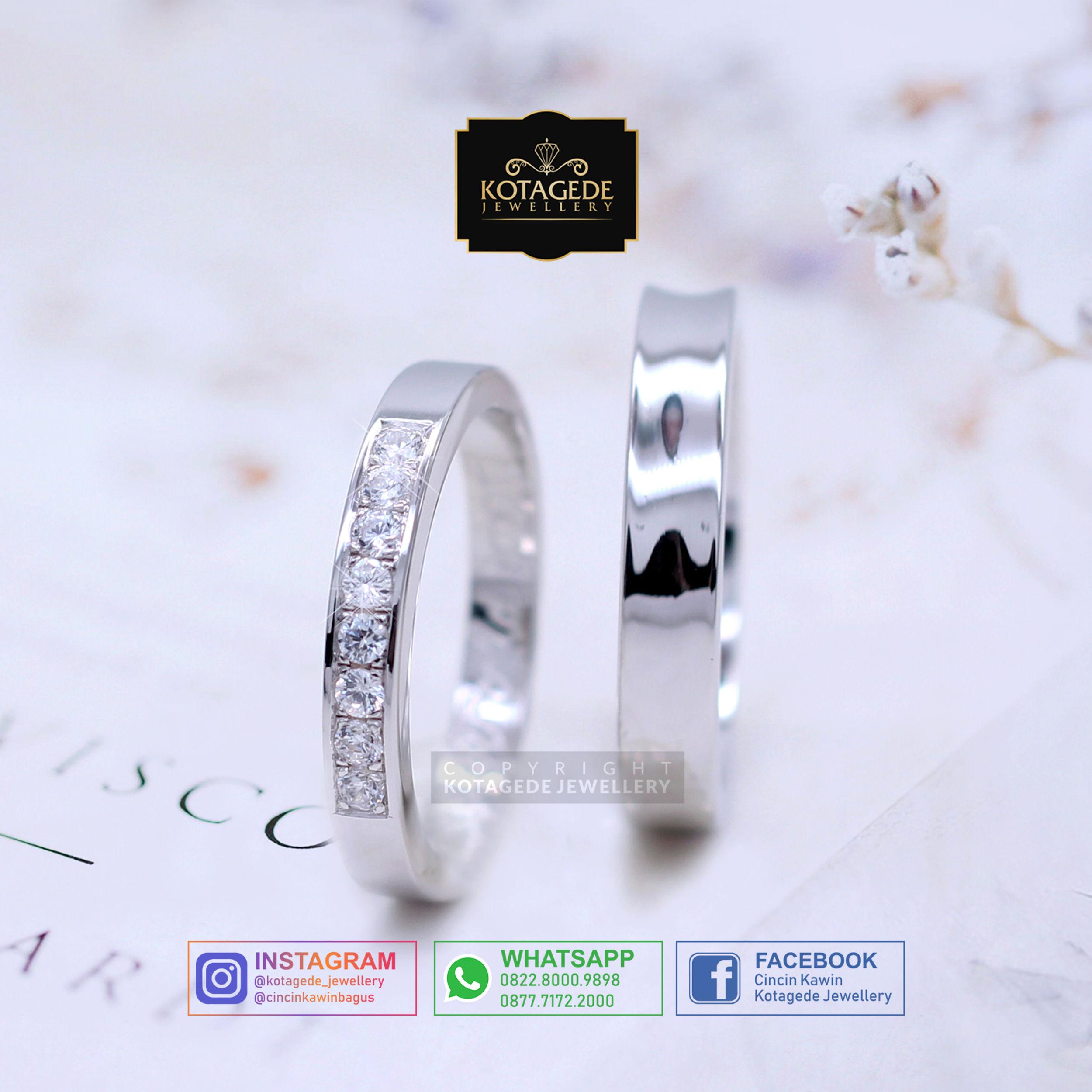 Cincin Kawin Tunangan Platinum PT0020PT