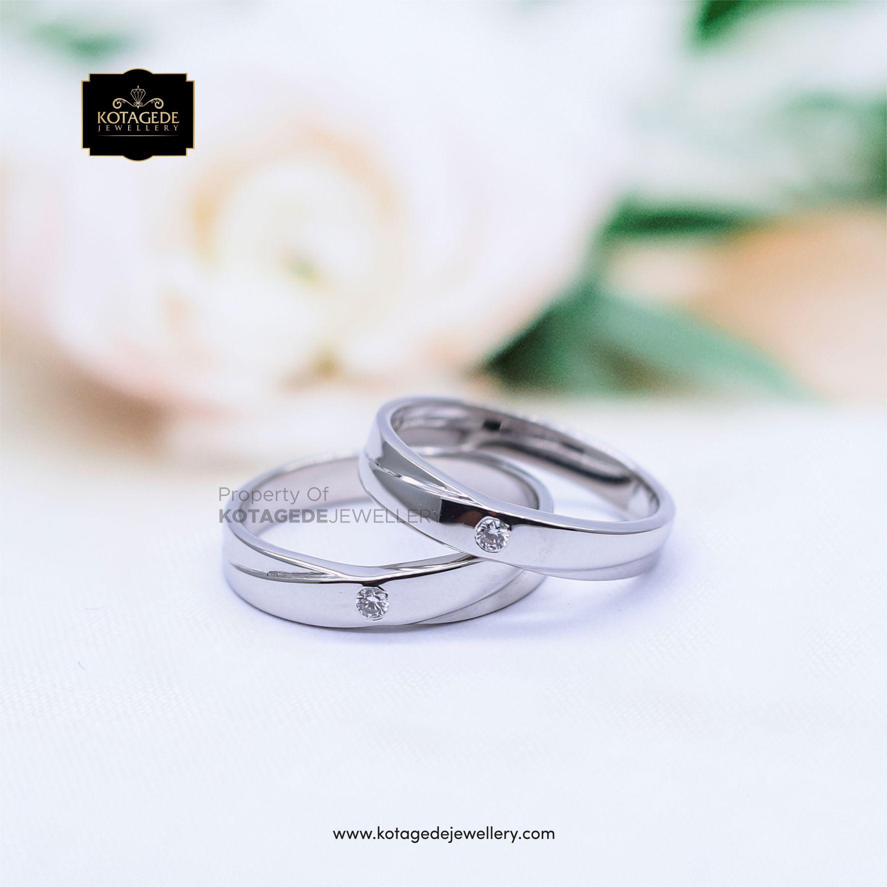 Cincin Kawin Tunangan Platinum Couple PT0067PT