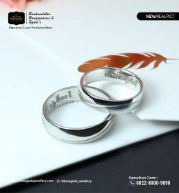 Cincin Kawin Tunangan Platinum Couple PT0102PT