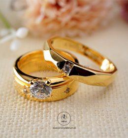 Cincin Kawin Tunangan Emas Couple YG0144YG