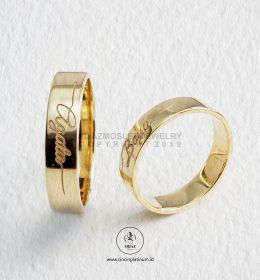 Cincin Kawin Tunangan Emas Couple YG0145YG