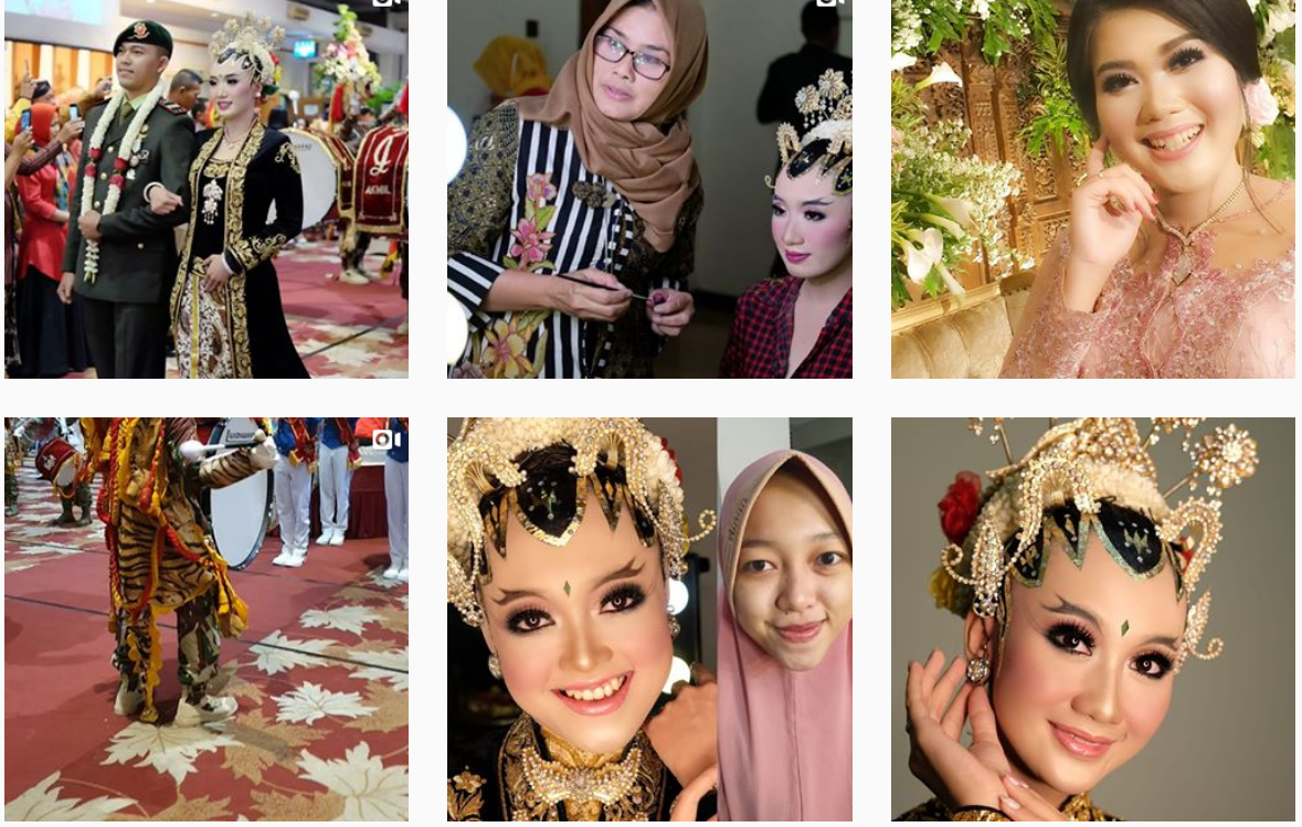 traditional look make up style