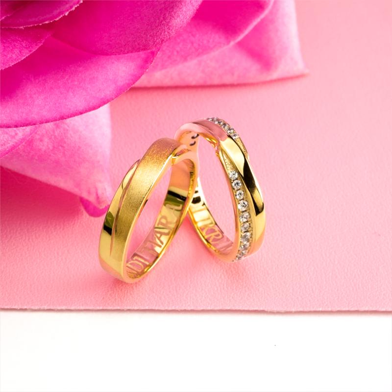 Cincin Kawin Tunangan Emas Couple YG0175YG